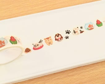Animal Friends Washi Tape WT3294A