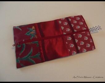 Patchwork fashion makeup Kit, raspberry