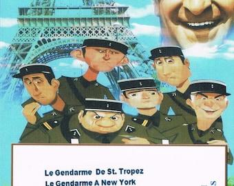 Louis de Funes. Collection 1. Le Gendarme Series. French, Optional English subtitles