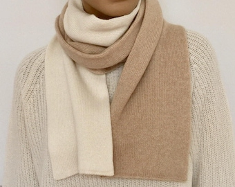 Cashmere Scarf Two-coloured/cashmere shawl