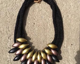 Multi-Layer Necklace, Bib Necklace, Statement Necklace, Exotic Necklace, Big Bold Chunky Necklaces