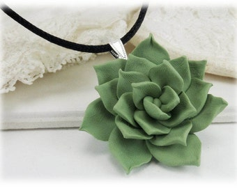 Large Succulent Choker Necklace