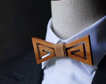 Groom Bow Tie Groomsmen Wooden Bow Ties Custom Wedding Bow Ties