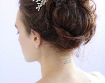 Peigne à cheveux mariée - spray cristal peigne - Style 602 - prêt à l'expédition