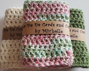 Crocheted Wash Cloths