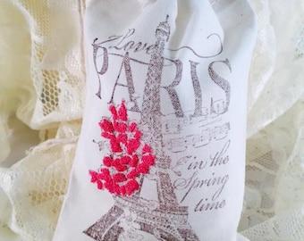 Paris Eiffel Tower Party Favor Bags - Paris Party Decorations - Eiffel Tower Party Decorations - Paris Eiffel Tower - Set of 10 - Customized