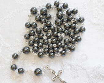 Hemalyke Rosary with Sterling Silver Cross