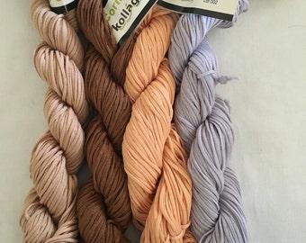 Kollage Cornucopia - worsted weight 100% corn fibre yarn