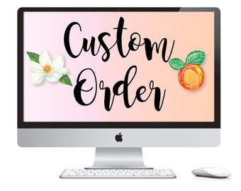 Custom Order Heather ONLY