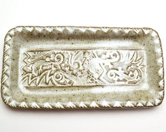 Small Stamped Rectangular Plate