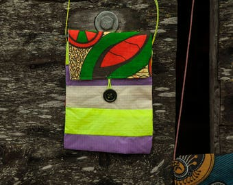 Heads-or-Tails Adventure Pouch (Recycled Paragliders, Malawi, Africa)