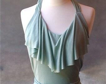 Jade Dress - silk and bamboo made to order
