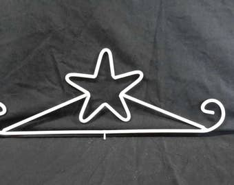 Decorative Metal Star Calendar Hanger