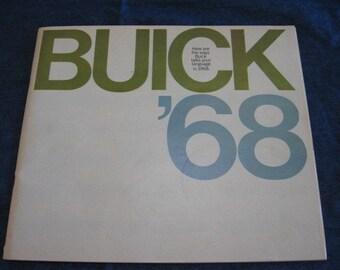 1968 Buick Brochure booklet