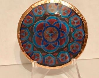 Reseeding Humanity Mandala Disc