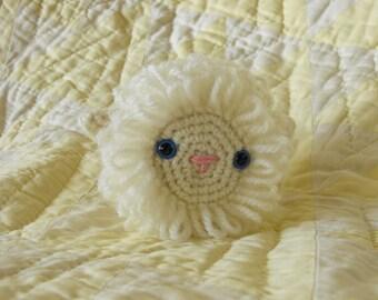 amigurumi lamb, crocheted lamb, little toy lamb, wool lamb, crochet lamb, knit lamb, Easter gift