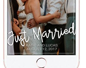 Wedding Snapchat Geofilter
