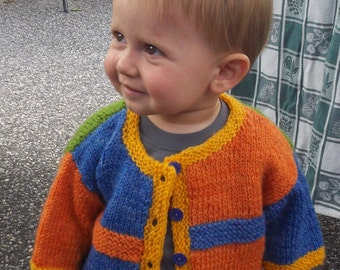 S20 Child's Sweater Pattern