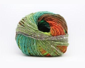Noro Kureopatora colorful yarn for knitting, color 1026