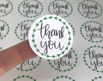 Thank You Stickers | Small Shop Stickers | Small Business Stickers | Shipping Stickers | Stickers for Makers | Happy Mail Stickers