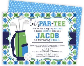 Golf Invitation, Golf Birthday Invitation, Golf Invitation, Golf Birthday, Golf Party, Golf Invite, Golf Birthday Party, Golf   475