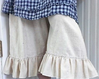 Mori Bloomers | Washed Muslin Bloomers | Mori Girl Bloomers with Pocket | The Wild Raspberry
