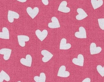 Fabric patchwork Pink Hearts Windham fabrics