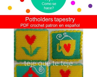 Potholders Tapestry