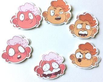 Steven Universe Lars Stickers