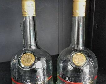 Empty Goldschlager Schnapps Premium Cinnamon Liqueur with Gold Flecks Bottle