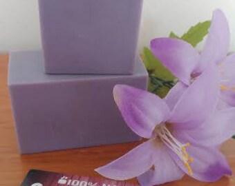 Natural SOAP has Lavender