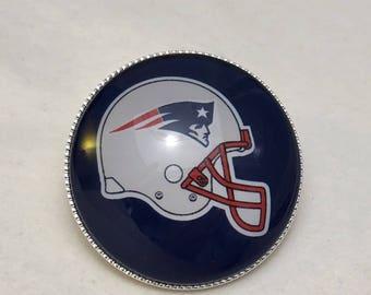 New England Patriots Football Helmet Pin New