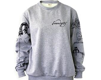 Singer Tattoos Sweatshirt Sweater Jumper Pullover Shirt – Size S M L XL 2XL