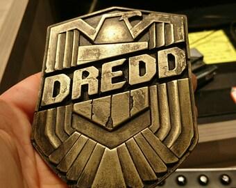 Dredd - Dredd Badge cast from Original Production Prop