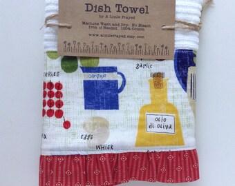 Dish Towel / Kitchen Bar Mop Towel / Farm Kitchen / Home Grown Animals