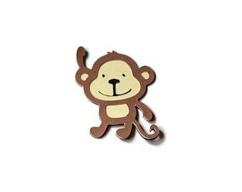 Monkey Die Cut, Monkey Scrapbook, Monkey Baby Shower, Safari Baby Shower, Monkey Birthday, Monkey Party, Monkey Die Cuts, Animal Die Cut