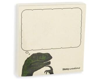 Sticky-memes Philosoraptor Meme Sticky Notes