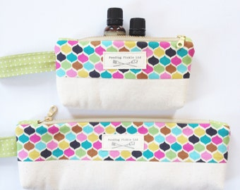 Essential Oil Bag - Essential Oil Travel Bag - Essential Oil Storage - EO Bottle Bag - Essential Oil Travel Pouch - EO Gift Bag - EO Travel