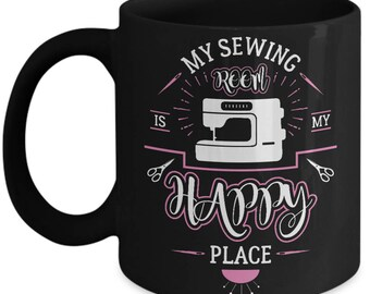 Sew Much Love-Sewers Gift- Quilter mug-Quilter mug for her-Quilter mug for sewers-Sewer mugs for mom-Gift for sewer-sewing gift-Quilter gift