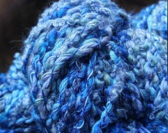 52 yds (bulky) Blue Skies Polyester/ Cotton Yarn