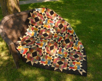 Quilt Pattern - Starlit Path