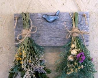 Dried flower rack