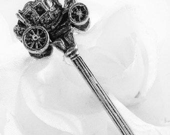 Disney Memorabilia, Disney Collector Spoon, Cinderella Spoon, Disney Spoon, Collector Spoon, Cinderella Coach  Spoon, Disney Figural Spoon