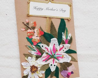 Hand-made Mother's Day card