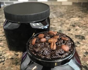 All Natural, Organic Coffee Oatmeal Body Scrub
