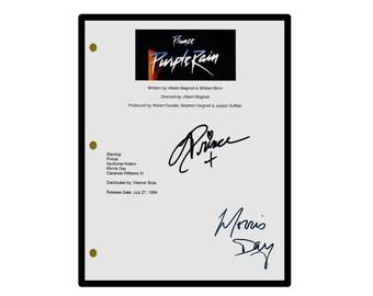 Purple Rain Movie Script Signed  Rpt - Prince & Morris Day