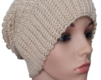 Soft and warm knitted hat