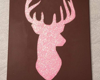 Deer canvas painting