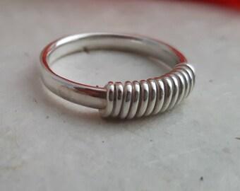 Sterling Silver 'Circles' Ring