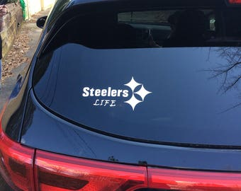 Smart Women Love STEELERS Decal Sticker Unique Football